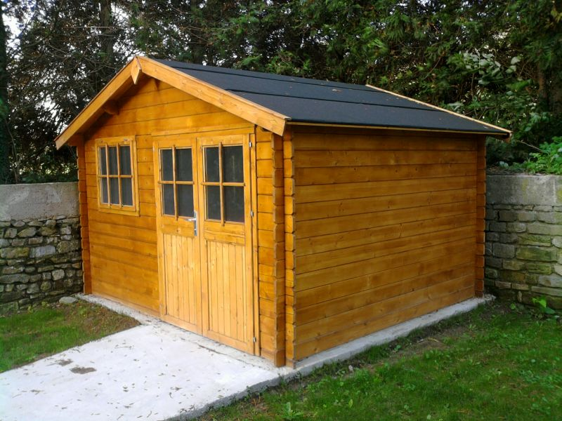 Toph services - Dalle en beton pour abri de jardin ...