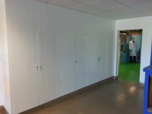 application de peinture gamme seigneurie primwood couleur blanche